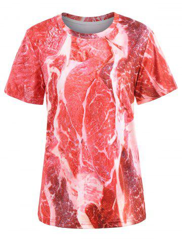 Sale Short Sleeve Raw Meat Tee