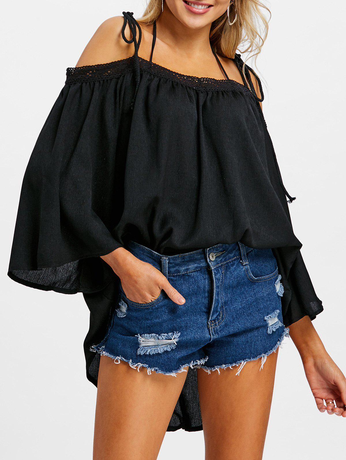 Fancy Off The Shoulder Cover Up Top