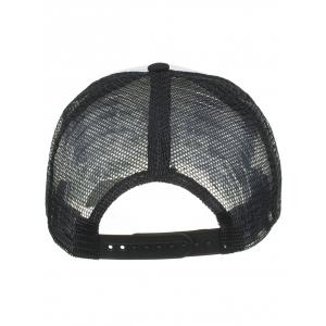 Outter Letter Embroidery Mesh Baseball Hat -