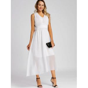 Chiffon Midi A Line Dress -