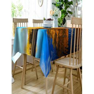 Reflections in A Lake Pattern Indoor Outdoor Table Cloth -