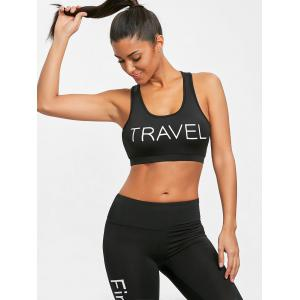 Gym U Neck Racerback Bra -