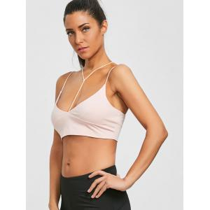 Cami Strappy Crop Top -