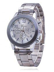 Classic Stainless Steel Strap Watch -