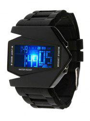 LED Digital Display Silicone Watch -