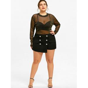 Shorts militaires grande taille -