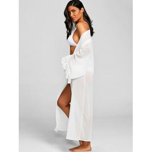 Flowy Chiffon Cover-up Top -