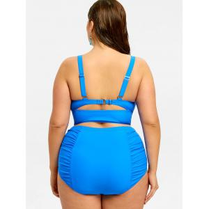 Plus Size Push Up High Waist Bikini -