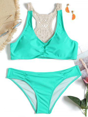 Latest Crochet Insert Low Waist Bikini