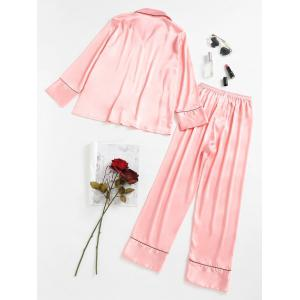 Satin Pajamas Set -