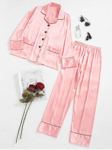 Hot Satin Pajamas Set