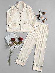 Ensemble de pyjamas en satin -