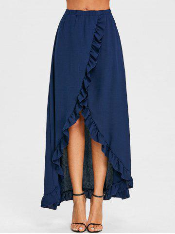 New Ruffle Floor Length Tulip Skirt