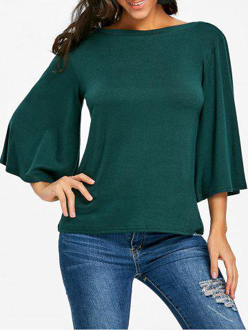 Shop Flare Sleeve Tunic Tee