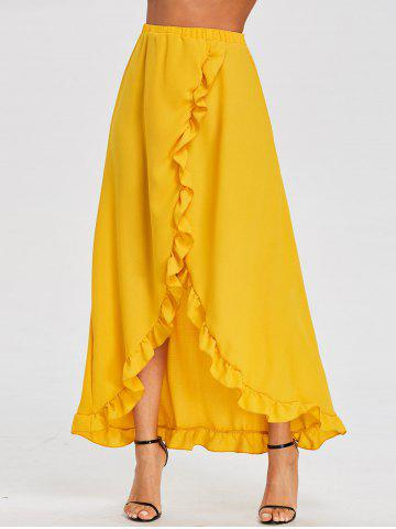 Buy Ruffle Floor Length Tulip Skirt