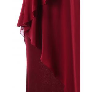 Sleeveless Tiered Formal Maxi Dress -