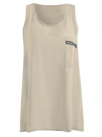 Outfits Summer Plus Size Chiffon Tank Top