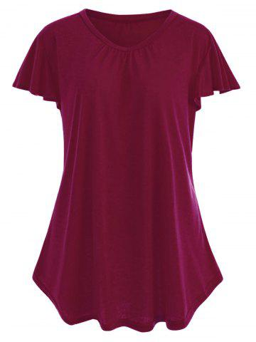T-shirt simple taille plus