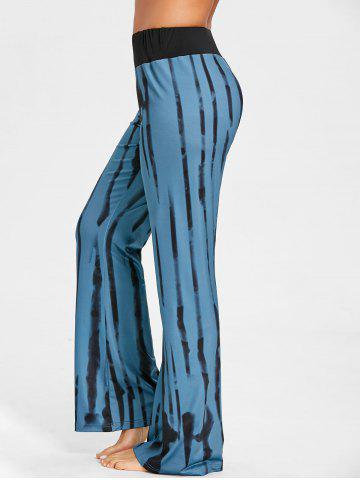 Buy Ink Print Wide Leg Pants