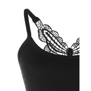 Cropped Butterfly Tank Top -