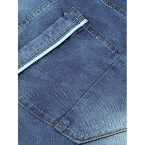 Classic Five-pocket Faded Jeans -