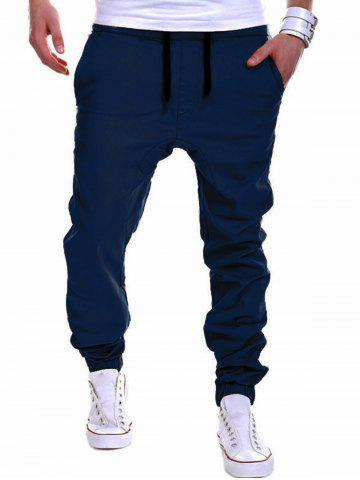 Trendy Drawstring Chino Jogger Pants