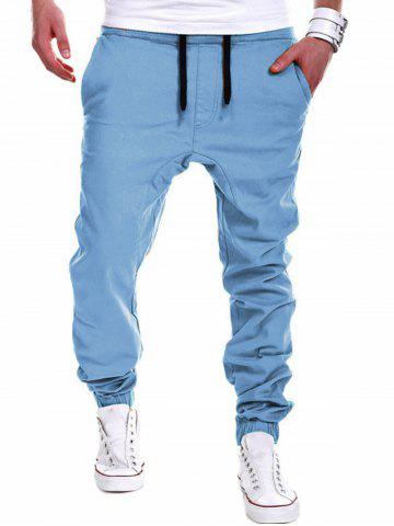 Drawstring Chino Jogger Pants