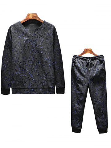 Online Jacquard and Printed Tracksuit