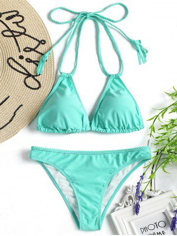Fancy Padded Braided Bikini Set