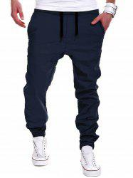 Drawstring Chino Jogger Pants -