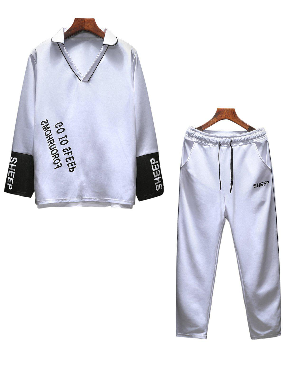 Cheap Graphic Print Tracksuit