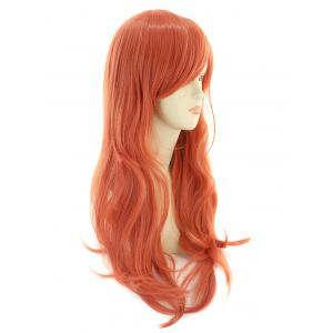 Long Side Bang Wavy Synthetic Cosplay Wig -