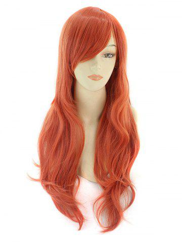 Discount Long Side Bang Wavy Synthetic Cosplay Wig