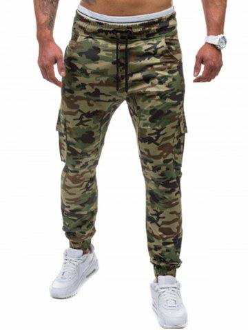 Outfit Camo Printed Cargo Jogger Pants