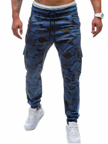 Latest Camo Printed Cargo Jogger Pants
