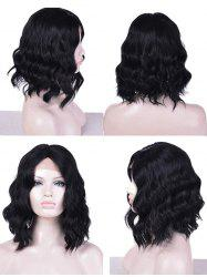 Lace Front Medium Center Parting Natural Wavy Synthetic Wig -