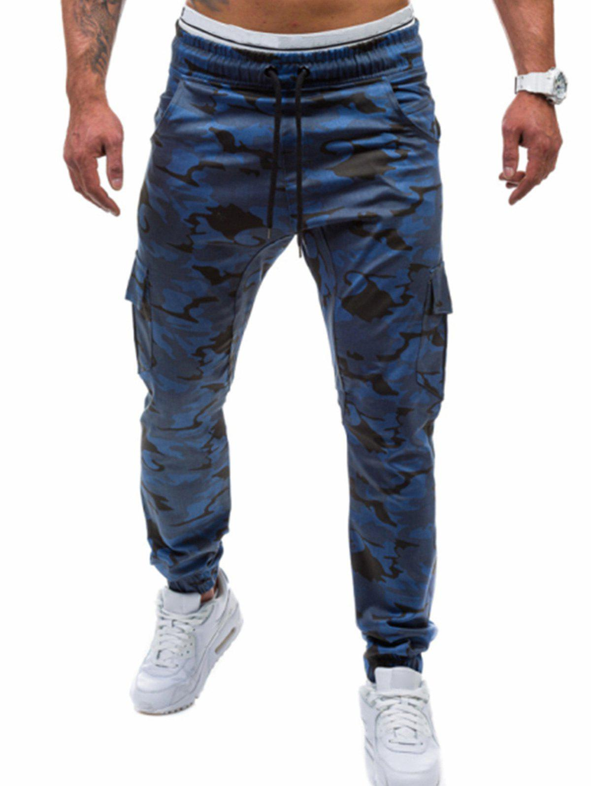 Buy Camo Printed Cargo Jogger Pants