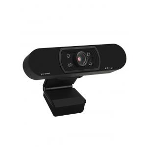 ASHU H800 1080P HDTV Video Calling Teleconferencing with Built-in Microphone Camera -