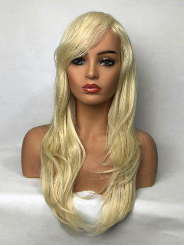 Outfit Long Side Bang Layered Straight Synthetic Wig
