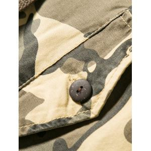 Casual Multi-pocket Camo Shorts -