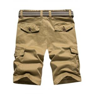 Loose-fitting Casual Cargo Shorts -