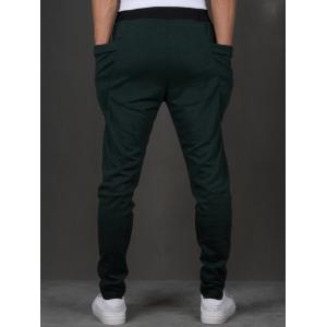 Pantalon Sarouel Design Poches -