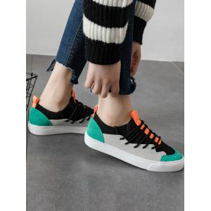 Outdoor Lace Up Sneakers -