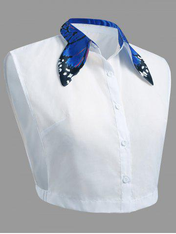Unique Plus Size Butterfly Collar False Shirt Detachable Collar