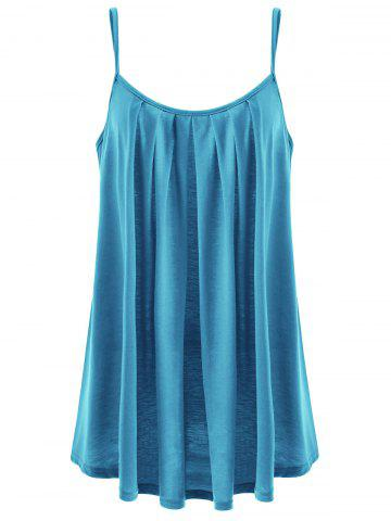 Buy Draped Plus Size Summer Tank Top