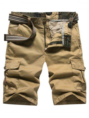 Affordable Loose-fitting Casual Cargo Shorts