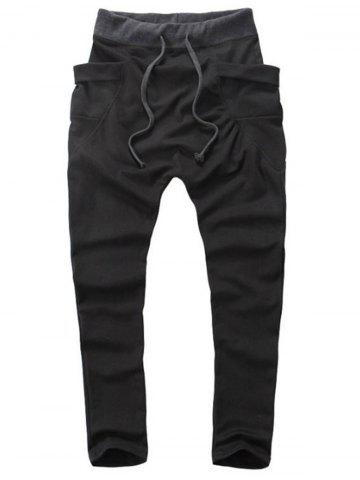 Pantalon Sarouel Design Poches