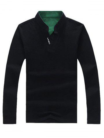 Latest Graphic Long Sleeve Polo T-shirt