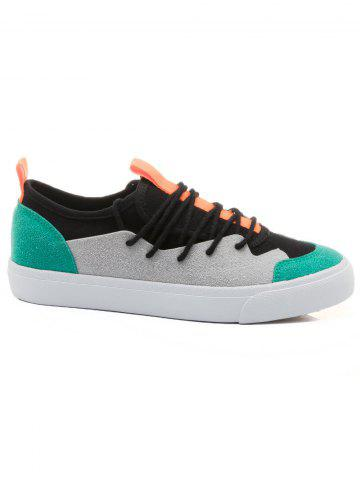 Fancy Outdoor Lace Up Sneakers