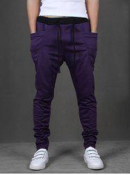 Pockets Design Harem Pants -